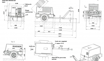 Compresseur KAESER M25 complet