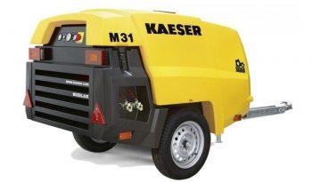 Compresseur de chantier KAESER M 31