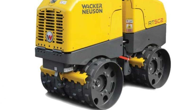 compacteur pieds de mouton wacker neuson RTSC3 complet